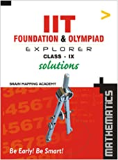 IIT Foundation & Olympaid Explorer Maths Solutions - Class 9