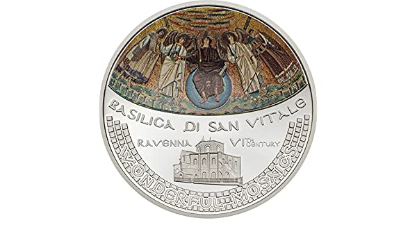 Basilica San Vitale Wonderful Mosaics 5$ 2017 Cook Islands