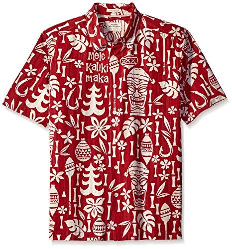 Quiksilver -camicia con colletto button-down Uomo    True Red X-Large