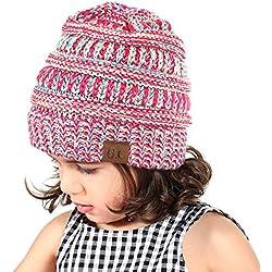 Tacobear Sombrero Bebé Niño Invierno Cálido Gorro Gorra con Pom de Punto  Beanie Warm Cap Otoño 779730e4549