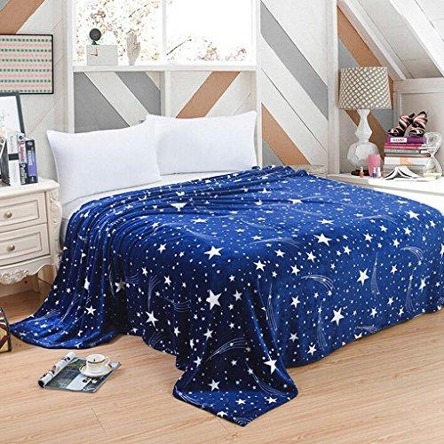 HLHN Kuscheldecke Weihnachten Warm Micro Plüsch Flanell Kuscheldecke / Sofadecke /Wolldecke / Tagesdecke (100 x 70 cm) (Micro-flanell-decke)
