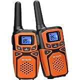 Retevis RA615 Walkie Talkie Bambini, PMR446 LPD Licenza-libero, 85 Canali Walkie Talkie, VOX 10 Toni di Chiamata, Display LCD