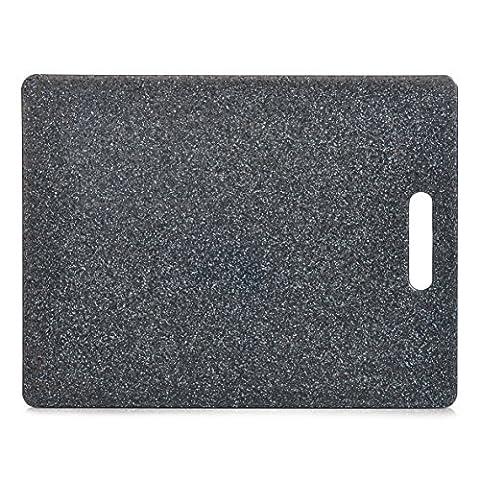Zeller 26057 planche à découper-plastique-aspect granite