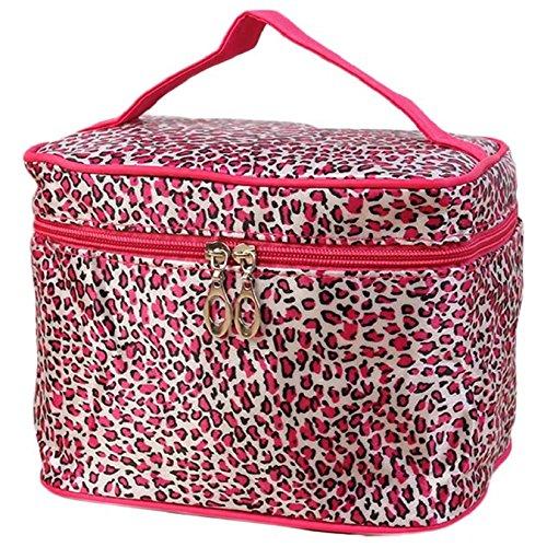 Tonsee® Sac de Maquillage maquillage de Sacs de Voyage léopard imprimé Sacs à cosmétiques Femmes