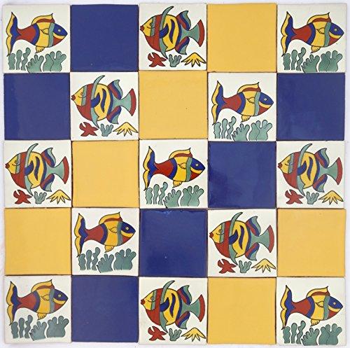 lot-de-25-talaveras-mexicains-105-cm-carrelage-fait-a-la-main-peces-tranquilo