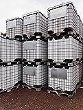 1000 Liter IBC Container Tank Wassertank Lebensmittelecht NEU