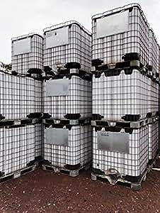 1000 liter ibc container tank wassertank lebensmittelecht neu garten. Black Bedroom Furniture Sets. Home Design Ideas