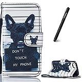 Slynmax Coque iPhone 5C iPhone 5C Housse de Protection Motif de Chien Luxe Peinture...