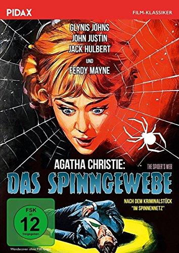 Agatha Christie: Das Spinngewebe (The Spider\'s Web) / Hochspannender Agatha-Christie-Krimi nach dem Kriminalstück IM SPINNENNETZ (Pidax Film-Klassiker)