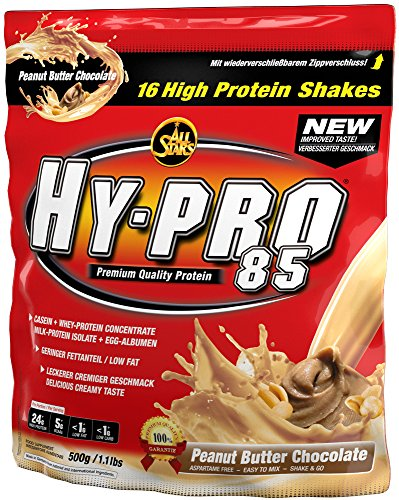 Whey-chocolate Peanut Butter (All Stars Hy-Pro 85 Protein, Peanut Butter Chocolate, 1er Pack (1 x 500 g))