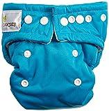 OsoCozy All in One Cloth Diaper, Aqua, Small