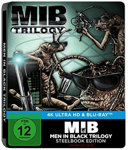 Men in Black Trilogie (Steelbook) - Ultra HD Blu-ray [4k + Blu-ray Disc]
