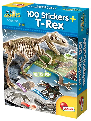 Dino 100 stickers T-Rex. I'm a genius