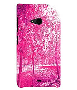 GADGET LOOKS PRINTED BACK COVER FOR Nokia Lumia 535 MULTICOLOR
