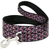 Buckle Down dl-6ft-wdy295-n Pet leash-5-disney Villains gestapelt, 6 'L/5,1 cm W
