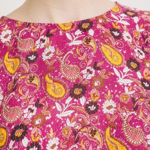 Promod Robe imprimée Femme Imprimé cassis