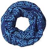HAD Pañuelo Head Accessoires Merino, Woodcut Sky OM (xilografía, azul cielo), talla única, HA460-0444