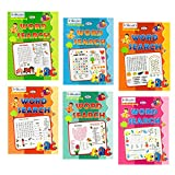 Word search puzzle books set of 6 from Inikao