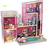 """KidKraft 65833 Mansion Dollhouse for 12"""" Dolls, Pink, Standard Size"""