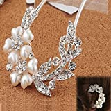 Binmer(TM)Women Lovely Vintage Hair Jewelry Crystal Hair Clips Hairpins for Hair Clip Beauty Tools