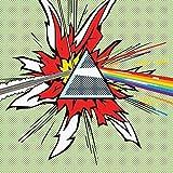 Pink Floyd - Dark Side of the Moon - Pop-Art bereit gerahmt Leinwand - 60 x 60 x 3.8cm (24 x 24 x 1,5 Zoll) - mit Klammern und Rahmer Seil