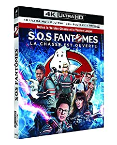 SOS Fantômes [4K Ultra HD + Blu-ray 3D + Blu-ray 2D Version Longue + Copie digitale UltraViolet]