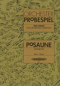 Orchesterprobespiel - Test Pieces Trombone