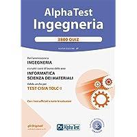 Alpha Test. Ingegneria 3800 quiz. Nuova ediz. Con software di simulazione