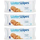 Waterwipes Baby Wipes Sensitive Skin (3 Packs of 60 (180 Count))