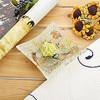 snack caramella piatto/Moda creative noci/ piatto di frutta/ cristallo/ caramella piatto frutta ciotola di insalata-A