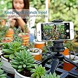Fotopro Handy Stativ Tripod Sets mit Handy Adapter, Bluetooth Fernauslöser für Kamera, Gopro, iPone, Samsung und andere Smartphones - 5
