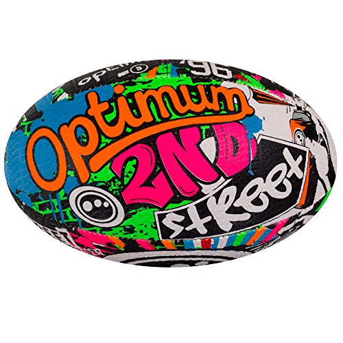 Balón de Rugby - calle óptima II Multi-color, tamaño 3