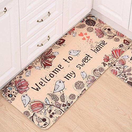 Alfombra de sofá Simple y elegante salón dormitorio cocina baño antideslizantes alfombras de dibujos...