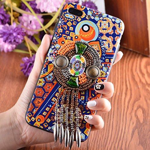 Wkae Retro Ethnischer Art-schützender rückseitiger Abdeckungs-Fall für iPhone 7 Plus ( SKU : Ip7p6676j ) Ip7p6676e