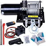 ReaseJoy 3000lbs (1361kgs) ATV Electric Recovery Winch Kit Wireless Remote Control 12V UTV Trailer Truck Car