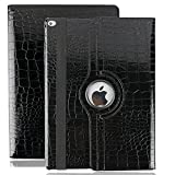 iPad Pro 12.9 2107 Coque, Avril Tian Folio Rotatif à 360 ° Avec Support écran Plat Smart Coque de Protection Case Cover pour Apple iPad Pro 12.9 pouce 2017 Released Tablette