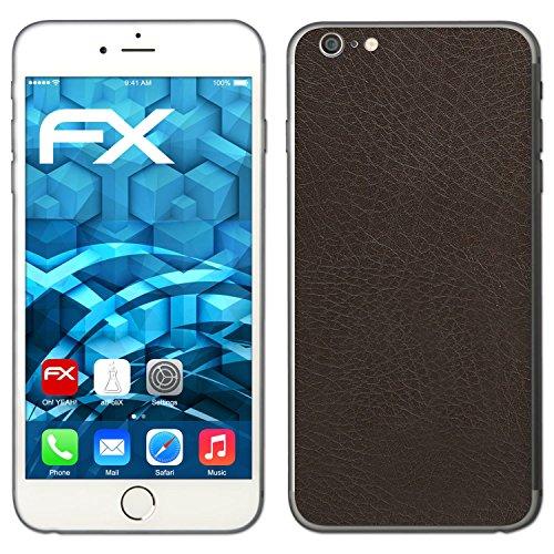 "Skin Apple iPhone 6 Plus ""FX-Variochrome-Spectral"" Sticker Autocollant FX-Leather-Brown"