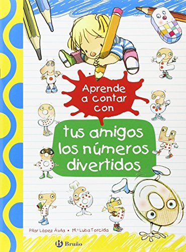 Aprende A Contar Con Tus Amigos Los Números Divertidos (Castellano - A...