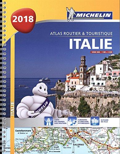 Atlas Routier et Touristique Italie 2018 Michelin
