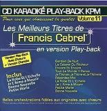 CD Karaoké Play-Back KPM Vol.11 Francis Cabrel