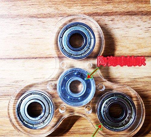 Preisvergleich Produktbild Sunnytech 1zappeln Spinner Spielzeug EDC Exquisite Hand Spinner DIY Puzzels für Angst Langeweile HS45–1