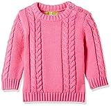 GJ BABY Baby Girls' Knitwear (122080061130 1270_CAMELLIA ROSE(1270)_3M-B)