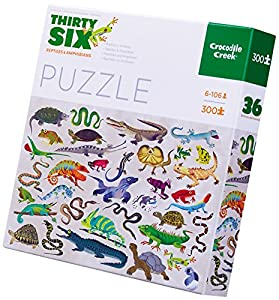 Crocodile Creek 4067-8 Puzzle Puzzle - Rompecabezas (Puzzle Rompecabezas, Fauna, Niños, Dinosaurio, Niño/niña, 6 año(s))