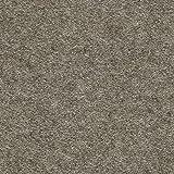 HAY Mags Soft Lounge Sofa Armlehne rechts, braungrau Beine schwarz Stoff Divina Melange 260 Naht schwarz 324x154x67cm