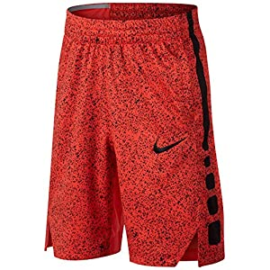 Nike Elite Basketball Dry-fit Shorts Max Orange/Schwarz Youth Boys Youth