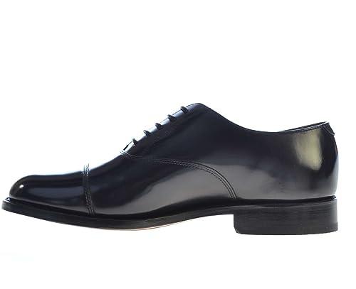 Barker Herren Derby Nadel 664437.Black Arnold, schwarz - schwarz - Größe: 6½
