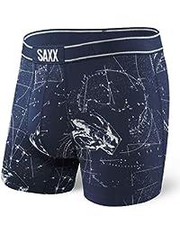 SAXX Atmosphäre Himmlische Spaceman Herren Boxer Kurze, Tiefes Blau