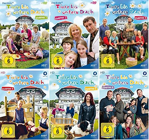 Tiere bis unters Dach Staffel 1-6 (1+2+3+4+5+6) [DVD Set]