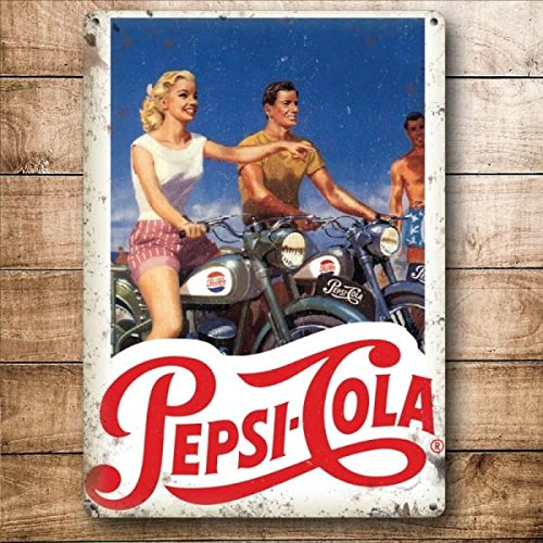 original-metal-sign-co-wall-sign-pepsi-cola-motorbike-vintage-lifestyle-8-x-6