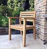 Teak Gartenstuhl Sessel Stuhl Teakholz Gartenmöbel